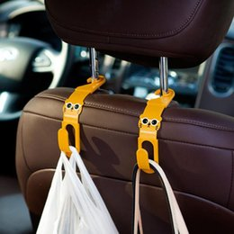 Wholesale Brand New Car Auto Seat Hanger Garbage Bag Organizer Holder Hook Pair FG08306