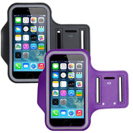 Wholesale For Samsung S7 ArmBand Case Water Resistant Sports Armband With Key Holder For IPhone s Plus Samsung Galaxy S5 S6 Edge DHL SCA116
