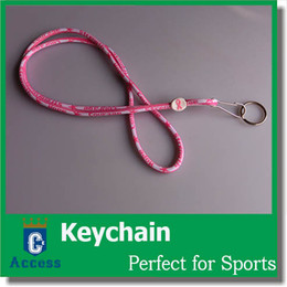 Wholesale 2016 Bears PINK Breast Cancer Awareness Quality Lanyard Keychain
