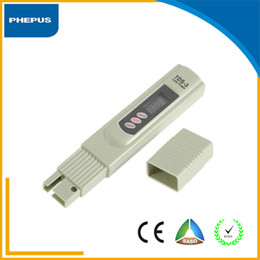 Wholesale PHEPUS New StyleTDS Meter Digital LCD Tester Water Quality Filter Hand Hold TDS Meter Home Drinking Water Tester