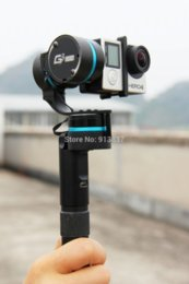 Wholesale Gimbal phone holder for free Feiyu Tech Motorsport FY G3 Ultra axis Brushless Gimbal for Gopro4 and Gopro3