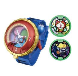 Wholesale-Hot DX Yokai Watch ( Yo-Kai Cartoon Electronic toy ) Insert the card sound