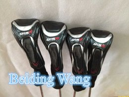 Wholesale Top Quality New Golf H Hybrid Wood Set Head Cover Golf Rescue Woods Headcover Clubs