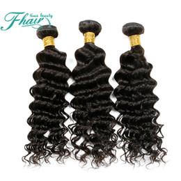 Promotion 22 pouces extensions de cheveux longueur 7A mongol cheveux vagues profondes 3 paquets extensions de cheveux humains Longueur 10 à 30 pouces DHL Livraison gratuite Future Time Beauty Hair Products