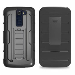 Wholesale Armor Robot Case for LG K8 K4 K7 K10 V10 K350 G4 Pro Mobile Phone Case