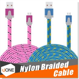 Micro USB Cable Premium 3FT 6FT 10FT Nylon Fabric Braided USB 2.0 A Male to Micro B Data Sync and Charge Cables for Samsung,HTC,Sony etc