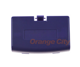Wholesale For GBA Battery Cover for Gameboy Advance Battery Cover case Replacement Door to choose