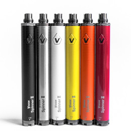 Wholesale Vision Spinner mah eGo Twist V V Vision Spinner II Battery Variable Voltage For eGo Atomizer with Packing