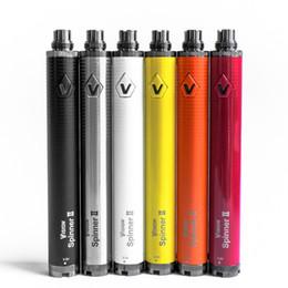Torsion ii en Ligne-Vision Spinner 2 1650mah eGo Twist 3.7V - 4.8V Vision Spinner II Batterie Tension Variable Pour eGo Atomiseur avec Emballage