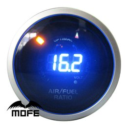 Wholesale Original Logo mm quot Analog LED Digital Air Fuel Ratio Gauge With Stepper Motor