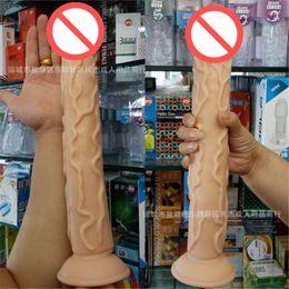 Wholesale Newest Super Huge Dildo Silicone Penis Female Masturbation inch Realistic Flexible Dildo Sex Toy for Women