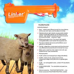 Wholesale 2016drive pig away of stick rechargeable dehorner livestock dehorner Rod length CM orange full length CM