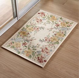Wholesale 90x90cm Factory bedroom carpet european style living room end table mat office mats