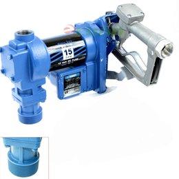 Wholesale Petrol Diesel Kerosene w Nozzle Volt DC GPM Gasoline Fuel Transfer V anti Explosive RotaryPump Kit