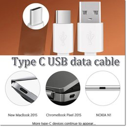 Wholesale high quality data line type C usb cable sync cable m ft male to usb charging for MacBook Google Chromebook Pixel HP Pavilion x2