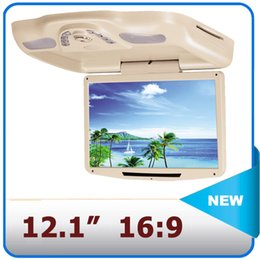 Wholesale Flip Down car dvd player quot HD high resolution car vcd cd player USB SD slot