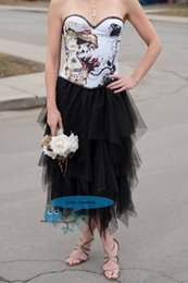 Black tutu tulle knee lenghth women skirt holiday party daily life summer skirt custom color and measurement