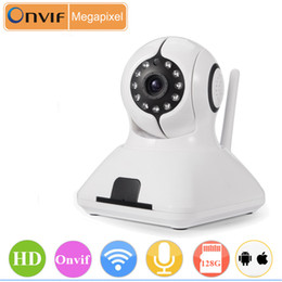 CCTV IP Camera Onvif 720P HD WiFi Wireless Smart Home Security P2P IR Night Vision Pan Tilt Two Way Audio 128G TF Card