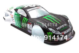 Wholesale 1 RC car parts pvc painted body shell mm No049 accessories wall