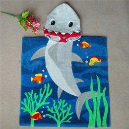 Hooded Bath Towel Hooded Towel Baby Shark   Mermaid Towel 100% Contton Kids Hood62