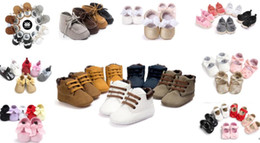 3 pairs lots(mix styles) Fashion baby first walkers Hot sale baby boy girl shoes prewalker shoes Newborn shoes