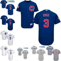 Wholesale 2016 World Series patch Mens Chicago Cubs Jerseys David Ross Baseball Jersey cool base stitched Embroidery logos Size S XL