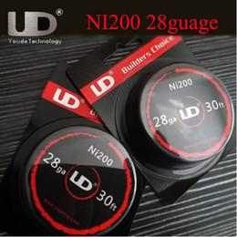 UD NI200 Wire 30 Feet DIY COIL Pure Nickel Ni200 for DIY Rebuildable RDA RBA Vaporizer Atomizer