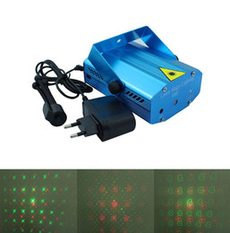 Mini Stage light Red&Green laser light AC100-240V laser projector party entertainment disco light