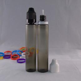 Wholesale 5ml 10ml 15ml 20ml 30ml 50ml Transparent Black PET Empty Bottle E Juice Dropper Bottles Pen Style Plastic Unicorn Bottles
