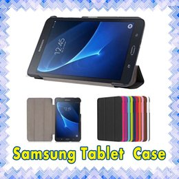 Wholesale Samsung Tablet T560 P5200 N800 inch Slim PU Leather Protective Flip Case Cover For Tab A E S iPad