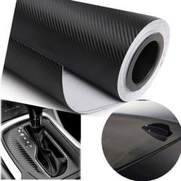Wholesale Vente en gros cmX30cm Fibre de carbone en D Vinyl Film Accessoires de voiture Moto Fibre de carbone Car Wrap Feuille Roll Film Autocollant Autocollant Car Styling