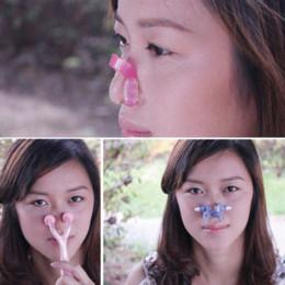 3PCS Nose Clip Up Bridge Straightening Beauty Clip + Lifting Shaping Shaper + Nose Massage Langetka Nose Correction Set