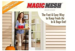 Wholesale MAGIC Magnetic Insect Door Net Screen Bug Mosquito Fly Insect Mesh Guard Curtain