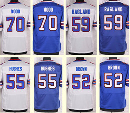 Wholesale 2016 New Men s Eric Wood Jerry Hughes Preston Brown Reggie Ragland White Blue Top Quality jerseys Drop Shipping