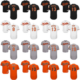 Wholesale 2016 Flexbase Men s Baltimore Orioles Adam Jones Manny Machado Cal Ripken Chris Davis baseball jerseys Stitched size S XL