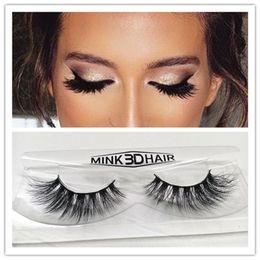 Wholesale 3D multi layer mink wool handmade false eyelashes eyelashes and soft and comfortable for export