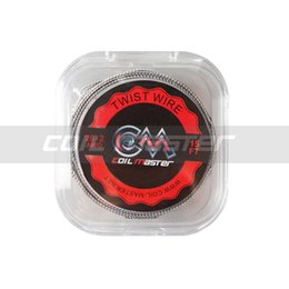 100% Original Coil Master Twist Wire 15FT 26 28 AWG Top Quality Wire for Vape RDA Coil Rebuilding