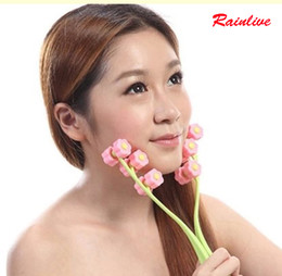 Face thin Face lift Good tool Face massager Roller type hand powerful Firming Household double chin push face device