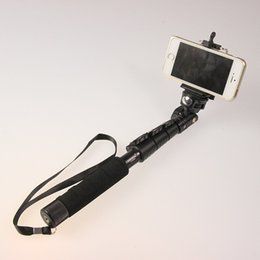 Wholesale-Top Quality YunTeng 088 Monopod For Gopro Monopod Tripod+Phone Holder For iPhone Gopro Hero Camera HD