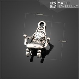 Wholesale sofa zinc alloy charm pendant Antique silver DIY jewelry accessories SH1929 DIY jewelry Findings Components
