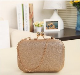 Wholesale Women Evening bag Women Gold Clutch bags Crystal Day Clutch Wallet Wedding Purse Party Banquet