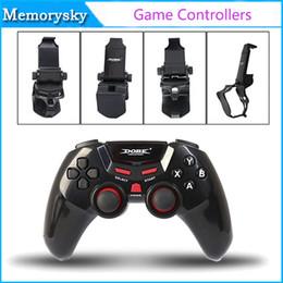 Pc joystick en Línea-soporte de Dobe TI-465 Bluetooth Wireless Gamepad Gamepad del regulador del juego Joystick Android / iOS / tablet PC envío libre