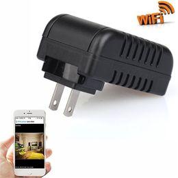 32GB 1080P HD Plug Network Camera Wireless IP Camera Mini Socket Camera Night Vision Surveillance Mini Cams EU   US Plug Free Shipping