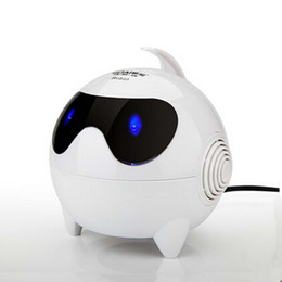 New Mini Lights Cute Catoon USB Wired Subwoofer Audio Speaker For Laptop Desktop With 3.5mm Interface BOAI S1
