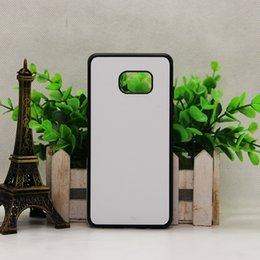Wholesale for Samsung Galaxy NOTE NOTE s6 edge plus Grand Prime G530 Rubber TPU DIY sublimation case with aluminium metal sheet