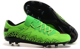 Wholesale Free Shippng Hypervenom Phantom II FG Soccer Boots Acg cheap soccer cleats official ic indoor soccer shoes Football Shoes no box