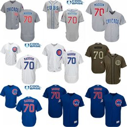 Wholesale 2016 World Series Champions patch Men s Chicago Cubs Joe Maddon Cool Base Flexbase Authentic Collection Jersey stitched