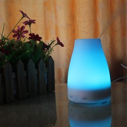Wholesale 10PCS BEST ML LED Light Color Change Dry Protect Ultrasonic Essential Oil Aroma Diffuser Air Humidifier Mist Maker for Home Office