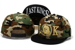 Wholesale Fashionable Leather And Leopard Hats Last Kings Snapback Caps Lk In Red Black Hat Baseball Hats Value To Buy Best Quality