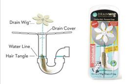 TV Drain wig hair hair cleaner water blocking hook clean sewer dredger